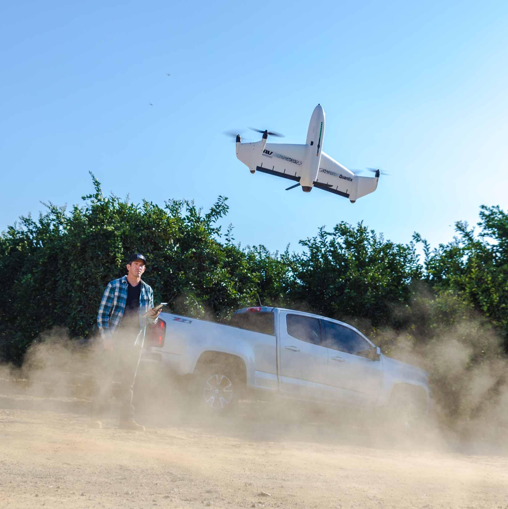 Quantix VTOL Take off