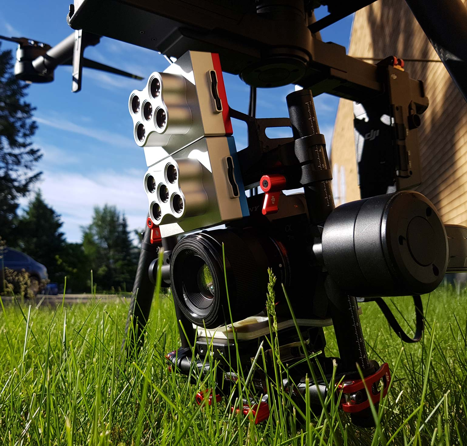 Custom Drone payload and sensor