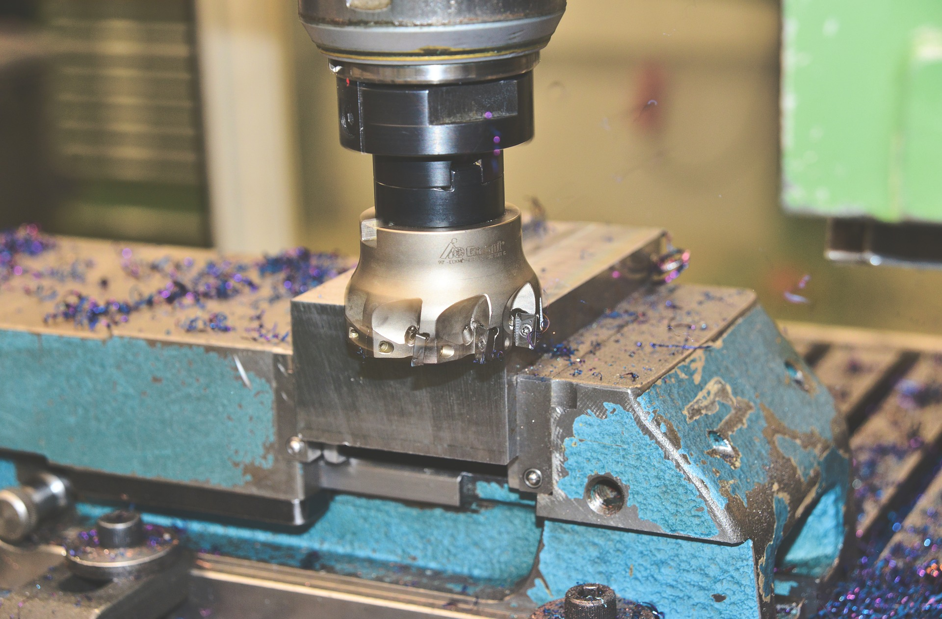 machining drone parts