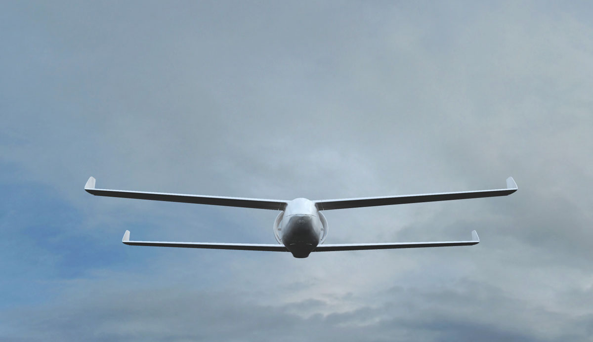 Tango2 UAV in flight